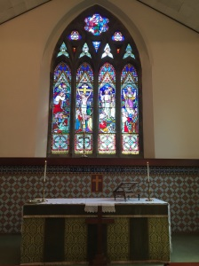 St. John's altar and window