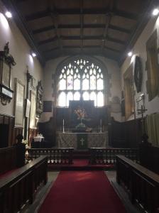 Eckington church altar